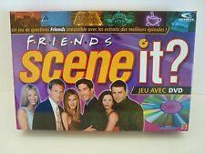 Scene It? Friends DVD FRENCH Board Game Jeu Mattel (2005)  100% COMPLETE! VGUC