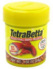 Tetra Betta Floating Mini Pellets 1.02 oz Free Shipping
