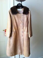 Manteau en cuir Gerard Darel t. 38FR