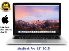 Apple MacBook Pro 13'' (2015) i5 2.9GHz - 8GB RAM - 256SSD - A Grade