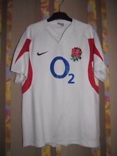 RARE ENGLAND RUGBY UNION RFU BRAND  TAGS SMALL NIKE JERSEY MINT CONDITION