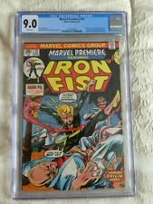 Marvel Premiere #15 - CGC 9.0 - 1st appearance of Iron Fist WHITE PAGES