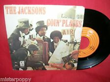 """JACKSONS Goin' Places/Do what you wanna 1977 ITALY 7""""+PS 45giri MINT-"""