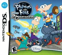 Phineas and Ferb: Across the 2nd Dimension - Nintendo DS (Complete)