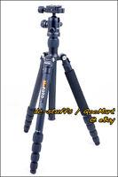 MeFoto RoadTrip A1350Q1 Aluminium Kamera Stativ Einbeinstativ Combo Schwarz