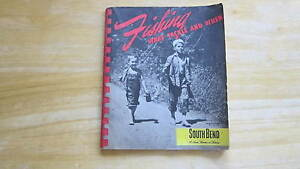 """VINTAGE FISHING TACKLE CATALOG SOUTH BEND 51/2""""X61/2"""""""