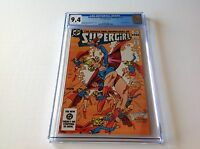 DARING NEW ADVENTURES OF SUPERGIRL 11 CGC 9.4 WHITE PGS COOL COVER DC COMICS