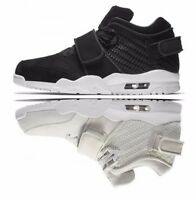 New Nike Air V Cruz Mens Boys Shoes Trainers Hi Top White Black UK 6 6.5 7