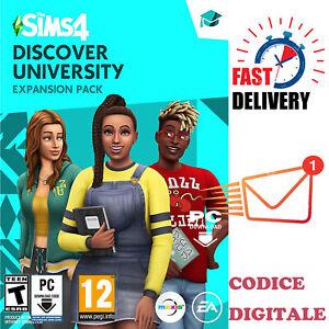 The Sims 4 VITA UNIVERSITARIA - DLC - PC EA Origin Código Digital - IT