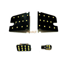 4 Pcs LED Interior Reading Lights for Mitsubishi ASX Outlander Sport, 6000K 3528