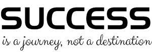 Success Motivational inspirational Quote vinyl wall sticker