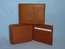AUBURN TIGERS   Leather BiFold Wallet    NEW    brown 4