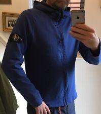 Stone Island Hooded Sweat shirt large Jacket over
