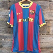 Barcelona Barca FCB Nikefit Dry Jersey Soccer Shirt Mens Sz Large