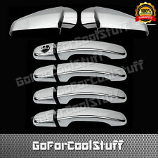 FOR CHEVY Equinox 10-17 4DRS handle w/o PSGKH+Mirror 2pc CHROME COVERS