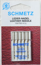 Sewing Machine Needles SCHMETZ Flat Piston System 130 Leather and Jersey Top