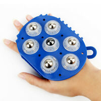 Hand Hold 360 Degree 7 Piece Roller Rolling Massager Body Care Massage Relax