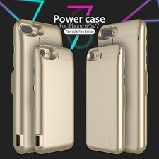 Genuine GOLD iPhone 7 Battery Case External Power Pack Charging Cover 5000mAh
