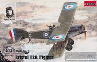 Roden 043 - Bristol F2b - Foghter-biplane 1916 War - 1/72 Scale Model Kit 166 mm