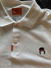Nike John McEnroe Headband Tennis Golf White Polo Men's Size Medium M CZ1763-100