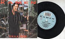 NICK KAMEN  disco 45 giri MADE in ITALY 1988 TELL ME + BETTER BE GOOD TONITE
