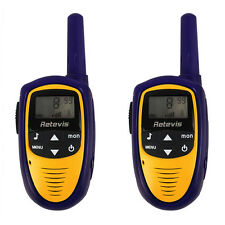 2x 8 Kanäle Walkie-Talkie Set PMR Handfunkgerät  LCD Display Radio Xmas Gift