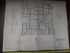 Vintage MDOT Michigan Department of Transportation ISABELLA COUNTY Bicycle Map