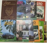 Lot of 12 Vintage 1980s JAGUAR EJAG JAGS UNLIMITED Magazines Classic Cars