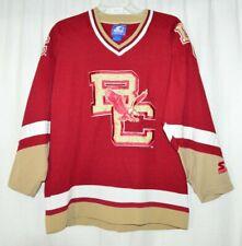 "Boston College Eagles NCAA /""Ice Machine/"" Men/'s Hockey Sweater Jersey"