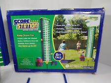 Recreaction Score Station Beverage Holder Corn Hole Volleyball Games Backyard