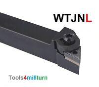 Drehmeißel Drehen WTJNL 1616 H16 NEU + 1St Wendeschneidplatte Lagerplatz D8