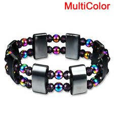 Magnetic Bracelet Weight Loss Natural Beads Stone Therapy Health Care Jewelry FG Green