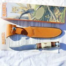 MARBLE'S USA-1998 limited edition EXPERT 1950th blade, stag handle; NIB w paper