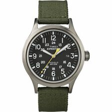 Timex Expedition Scout T49961 Indiglo Watch Extra NATO Strap