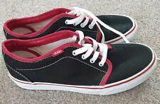 Vans Old Skool Zapatillas De Skate Negro/Borgoña,