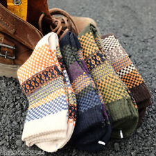 New Men's 4 Pairs Warm Winter Thick wool Mixture Cashmere Casual Dress Socks US