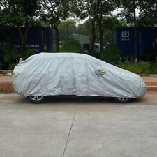 Car Full Cover Tarpaulin Waterproof Windproof Outdoor UV Protection Breathable
