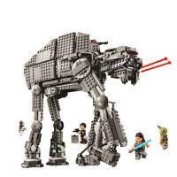 LEGOs Star Wars First Order Heavy Assault Walker 7519 The Last Jedi Building Set