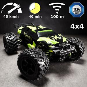 Ferngesteuertes Buggy Geländewagen Allradantrieb RC Allrad X-Monster 45km/h 2bat
