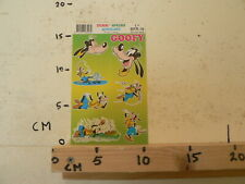 STICKER,DECAL SHEET WITH STICKERS DISNEY INTRODUCT GOOFY 1