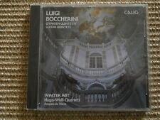 Luigi Boccherini Gitarrenquintette CD Walter Abt Hugo Wolf Quartett