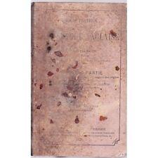 rare COURS PRATIQUE ET GRADUE DE LANGUE ANGLAISE / ADDISON 1ère partie 1873