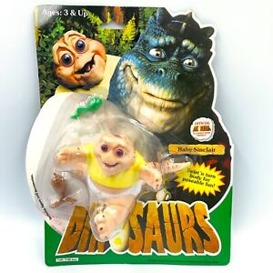 VINTAGE 1991 Hasbro Dinosaurs Baby Sinclair Action Figure Disney NEW IN PACKAGE