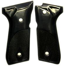 Beretta Grips fit 92F 92FS 92SB 96 M-9 Pistol Real Buffalo Horn checkered