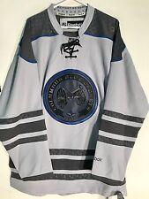 Reebok Premier NHL Jersey Columbus Blue Jackets Team Grey Ccheck sz L