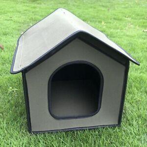 Outdoor Waterproof Weatherproof Foldable Pet Dog Sleeping Kennel House