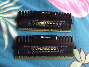 CORSAIR VENGEANCE 8GB 2 X 4 GB DDR MEMORY RAM