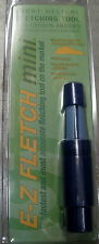 ARIZONA E-Z FLETCH Mini Arrow Fletcher CM1 w/Free glue & Blazer vanes
