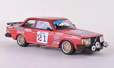 """Volvo 240 Turbo #21 Delcourt-Dieudonne-'Davit' """"ETCC"""" 1986 (Neo 1:43 / 45561)"""