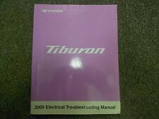 2005 Hyundai Tiburon Electrical Service Shop Manual FACTORY OEM BOOK x HYUNDAI